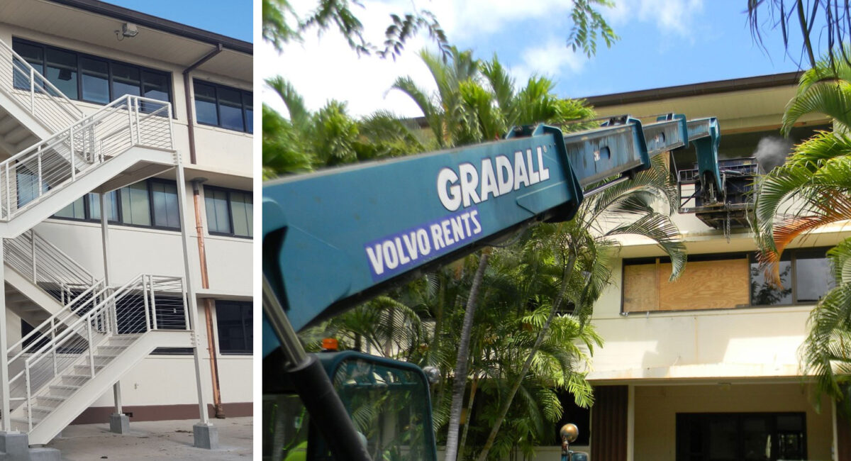 Caddell Construction Project - PACAF HQs in Pearl Harbor, Hawaii