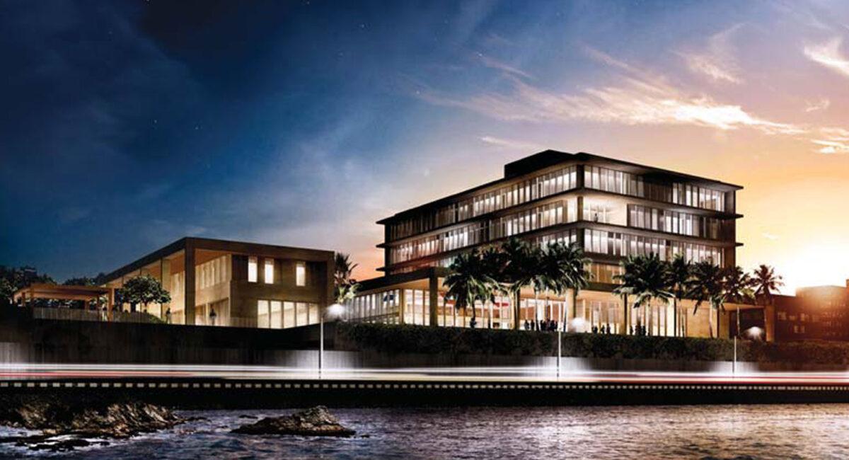 Caddell Construction builds Colombo Sri Lanka