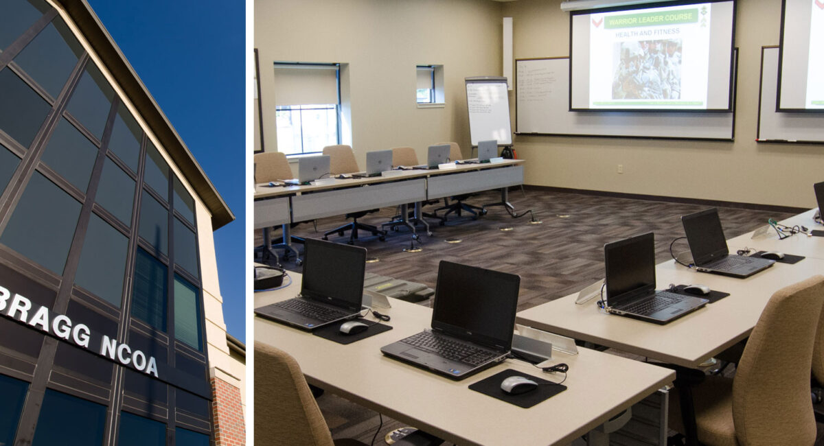 NCO Academy Complex Fort Bragg, NC | Caddell Construction