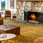 Caddell Construction- Interior of Amicalola Fall Lodge & Convention Center